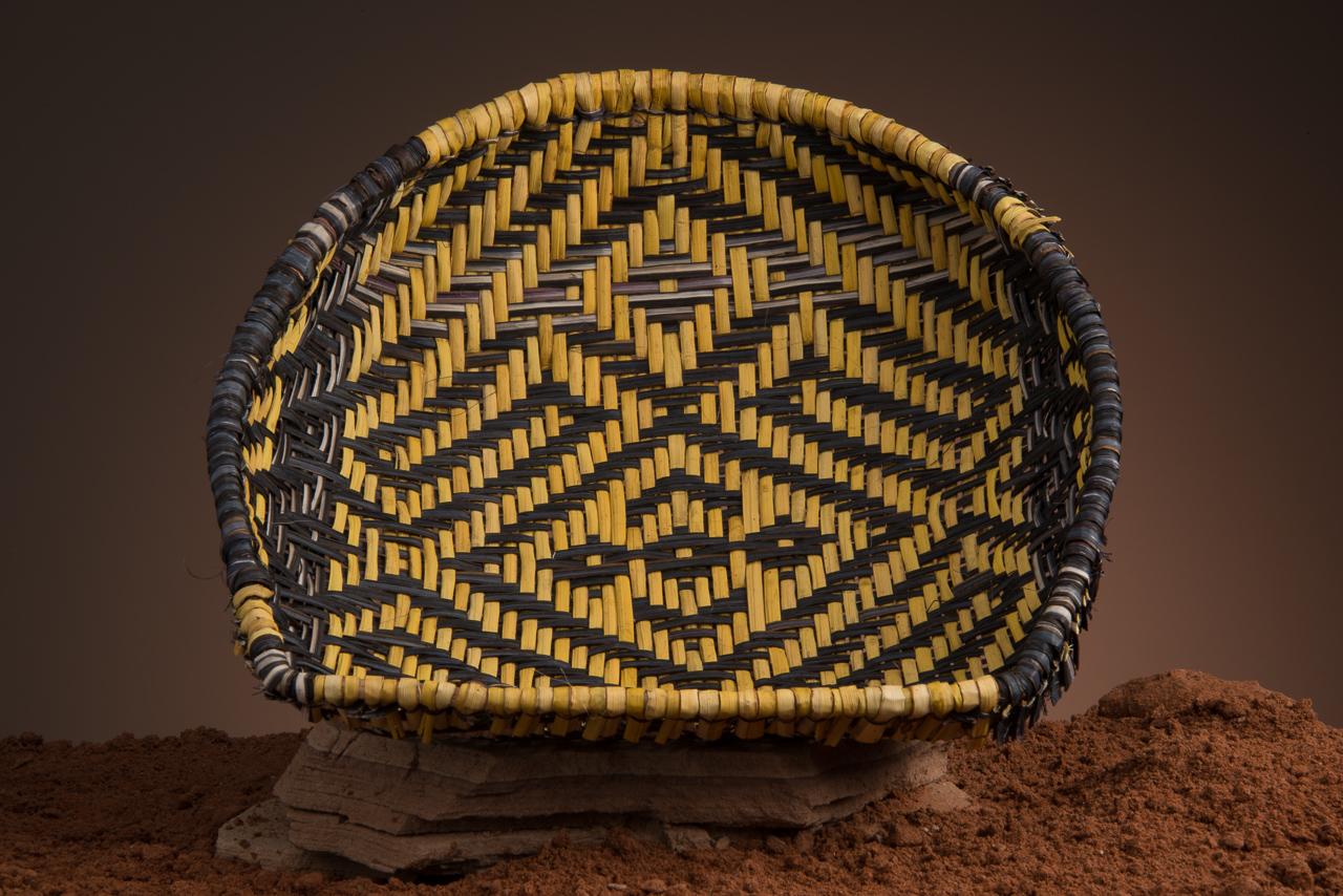 Orionsbelt Basket by Iva Honyestewa